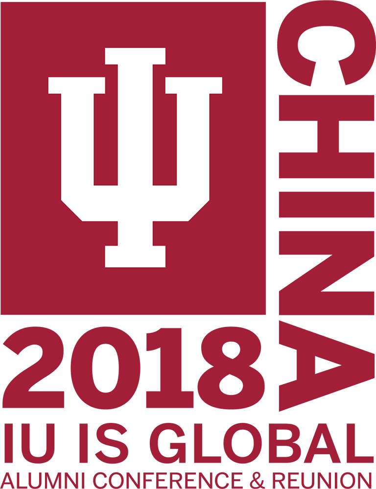 IU is global 2018 logo.