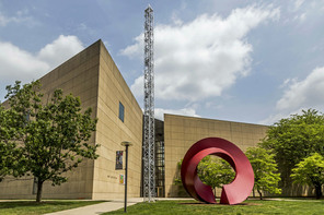 Exterior of the IU Art Museum